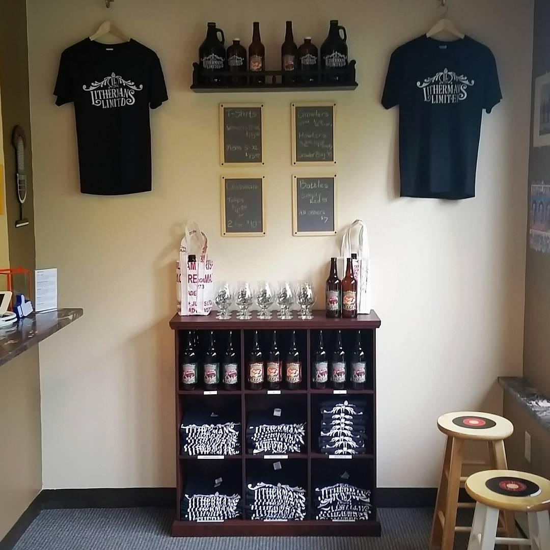 The new product display wall is lookin pimpin. Thank you @erin_loves_beer #howmuchcanyoucarry