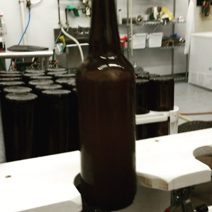 It's a bottling night! #HowMuchCanYouCarry of #TangledUpInBruges  #Lithermans #saison #concord #nh #craft #beer