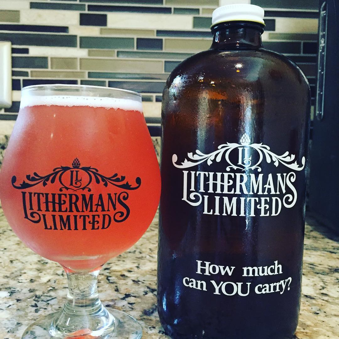 High Plains Biscus Saison. Get it at the brewery while it lasts.  #howmuchcanyoucarry #nhbeer #lithermans #concordnh #MHPlikes tiny bubbles