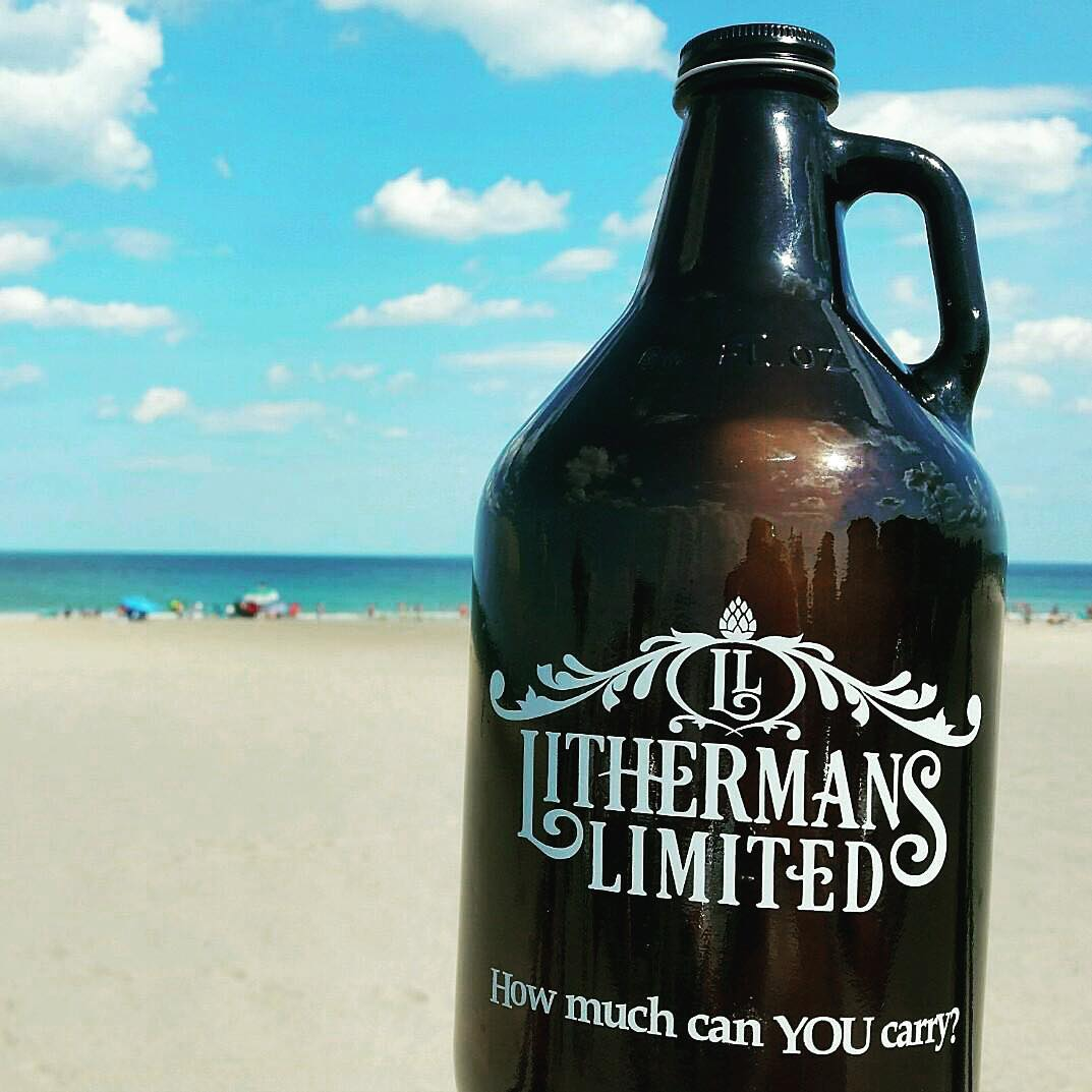 Where are you enjoying Lithermans Limited today? #lithermans #howmuchcanyoucarry #nhbeer #concordnh #MHPlikes together in the sand #nofx