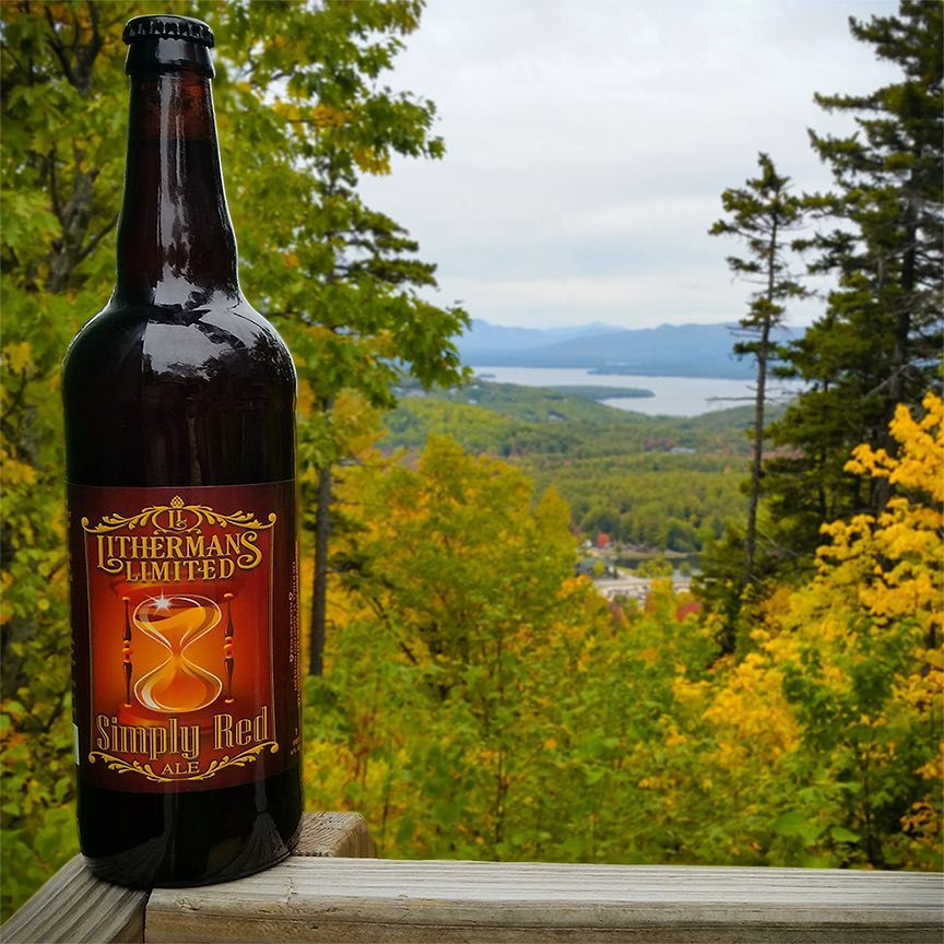 A Fresh batch of Simply Red Ale our 9% abv 84 IBU Imperial Red Ale is on tap today in our tasting room. Open 12-5. #lithermanslimited #concordnh #howmuchcanyoucarry #SimplyRedAle #mhplikes balanced beer