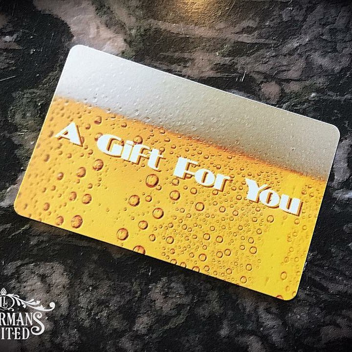Why yes. We do offer gift cards! #howmuchcanyoucarry #lithermanslimited #concordnhbrewed #mhplikes gifts