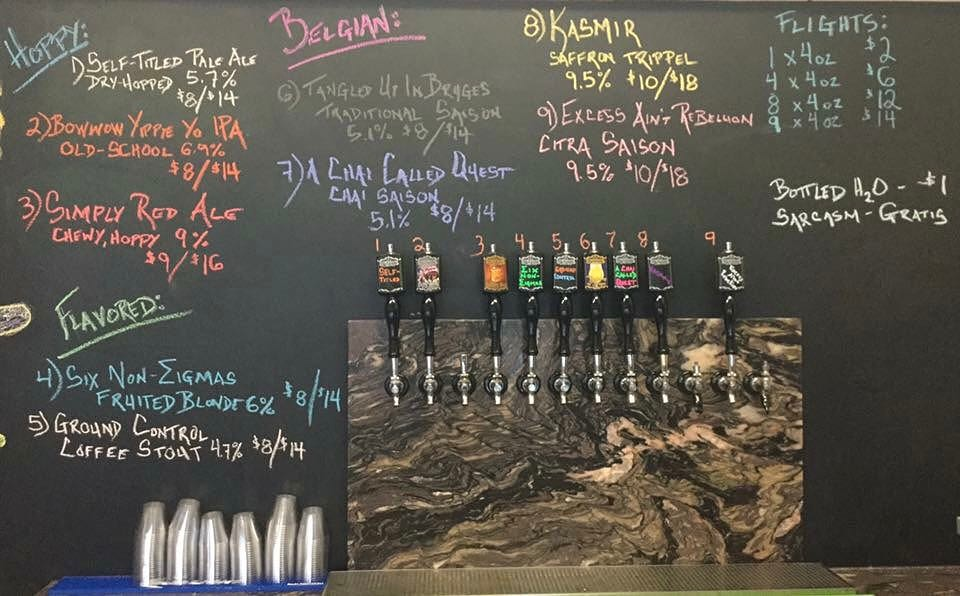 YES WE ARE OPEN!!!! 2 new beers on tap, including a hoppy saison and a Belgian-inspired TRIPPEL. #HowMuchCanYouCarry? #concordNHbrewed #MHPlikes bee pollen