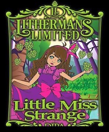 This Thursday, LITTLE MISS STRANGE DIPA will come back into our parlor. You won't know just what to ask her. You won't remember what you did after. Little Miss Strange double IPA. #HowMuchCanYouCarry? #concordNHbrewed #nhbeer #lithermans