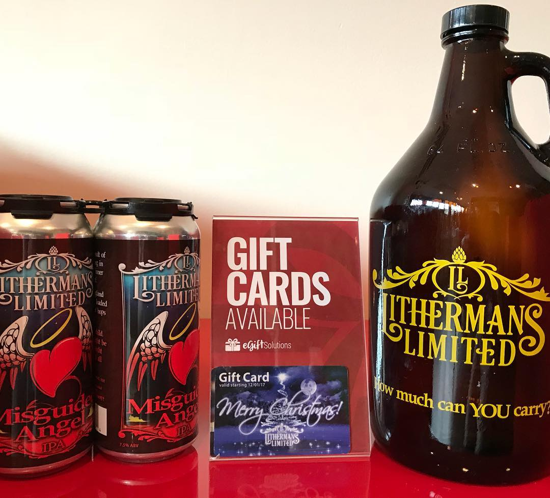 It's Small Business Saturday! We are open today from 12-5pm. #lithermanslimited #concordnh #nhbeer