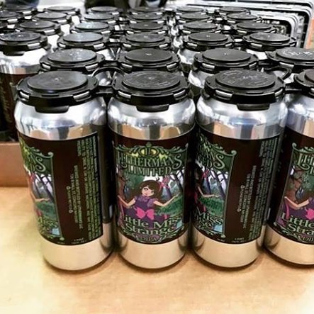 Cans of Little Miss Strange are going fast! Only 11 cases left. Tasting room opens today at 4pm. We also have Misguided Angel, Simply Red, Tangled up in Bruges, Milli Banilli and LMS on tap for pints and Growlers. #lithermanslimited #nhbeer #nhbrewers #concordnh