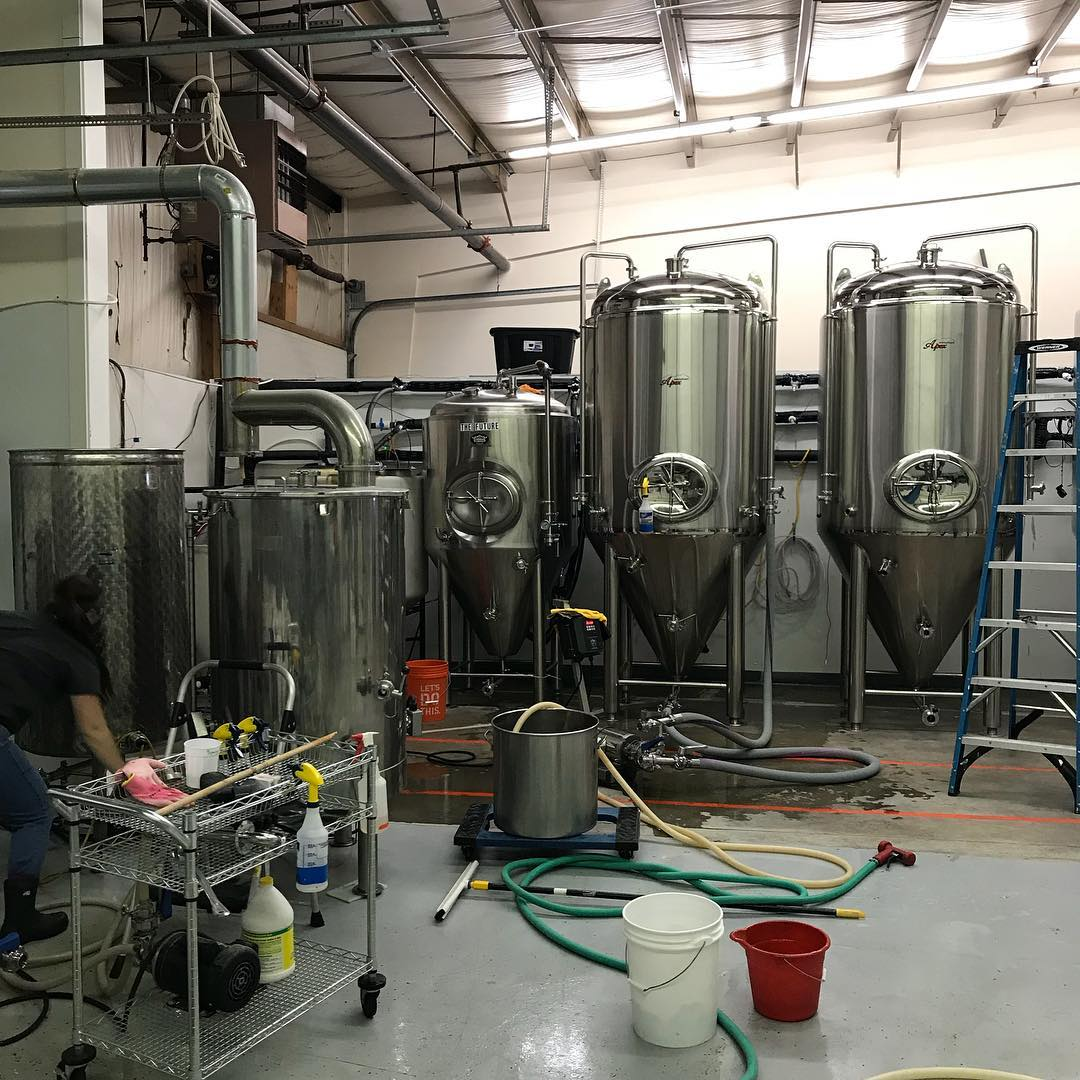 Brewing up another batch of Misguided Angel today!  #lithermanslimited #misguidedangel #concordNHbrewed #nhbrewers
