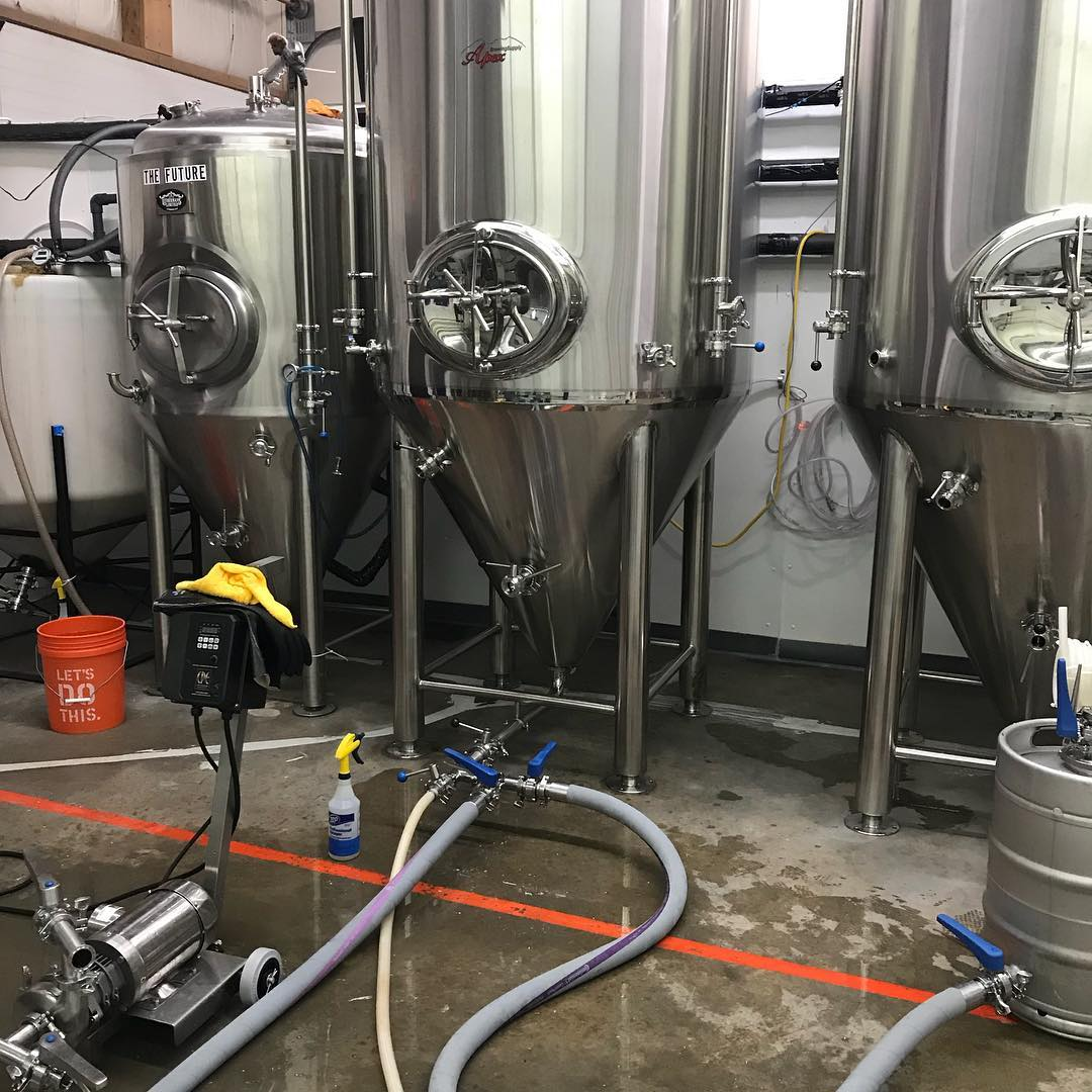 We have been brewing around the clock this week to fill the new fermenters. A Fresh batch of Misguided Angel and a new Session IPA made with Mandarina Bavaria, El Dorado and Centenial hops go on tap this week! We will also have 5 Saisons going on tap on February 1st. Stay tuned. #HowMuchCanYouCarry