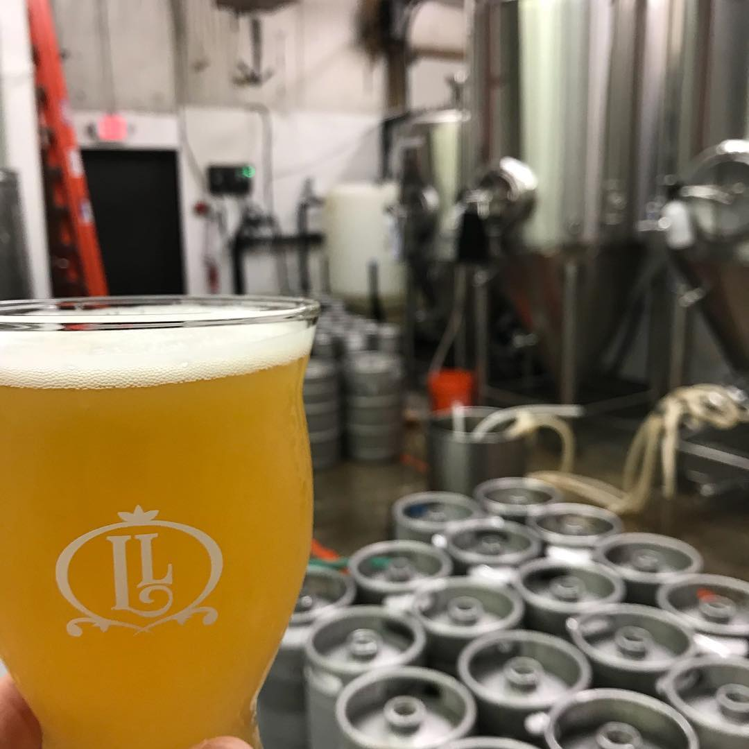 Kegging up a fresh batch of Misguided Angel! #HowMuchCanYouCarry #lithermanslimited #misguidedangel