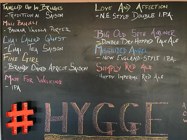 Starting off the day with 9 beers on tap. We also have cans of Misguided Angel, Milli Banilli and Made for Walking IPA. Open from 12-5pm. #HowMuchCanYouCarry