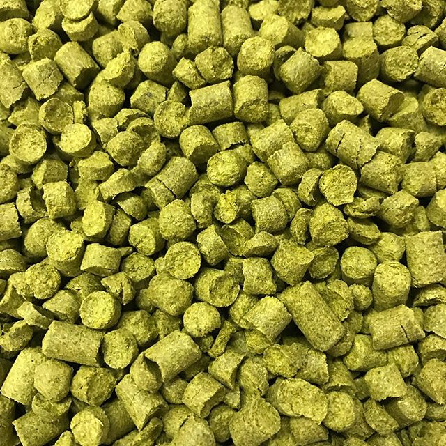 We love the smell of hops in the morning!