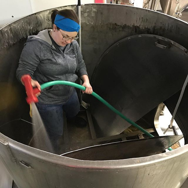 80% of brewing is cleaning. Have you thanked a Brewer today? #lithermanslimited #nhbeer #brewerslife