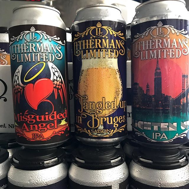 Triple can release! Starts Friday at 4pm. #freshbeer