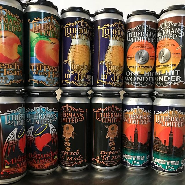Tasting room is open this weekend Friday from 4 to 8 PM, Saturday from noon to 7 PM and Sunday from noon to 4 PM. Kicking off the weekend with six varieties in cans and 12 beers on tap. #HowMuchCanYouCarry