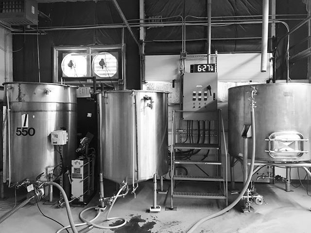Good morning! Time to make the beer!