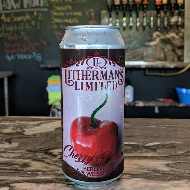 Have you tried our new Cherry Berliner Weiss yet? Tasting room is open today from 12-7 pm.
