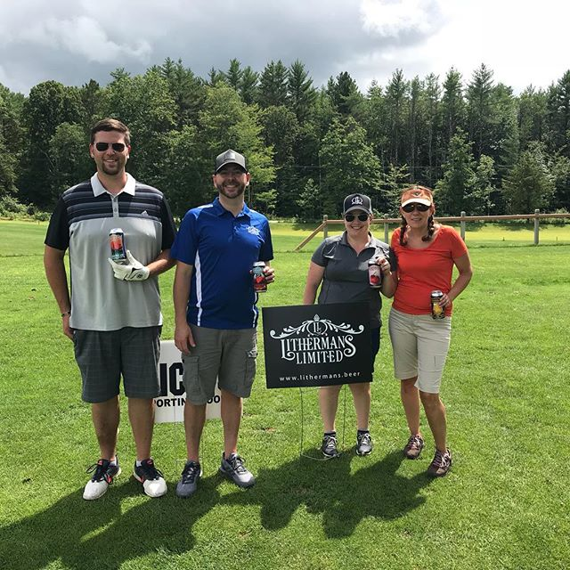 We had a great day at the Gilmanton Youth Organization Annual Golf Tournament. #lithermanslimited