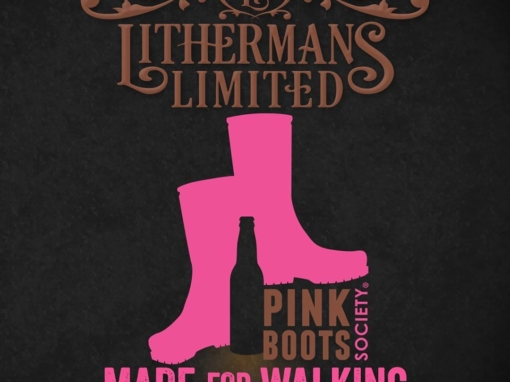 Made for Walking returns on Thursday 10/10. This scrumptious NEIPA was brewed with the @pinkbootssociety 2019 hop blend by Dropkick and her friends from @pbs_nh