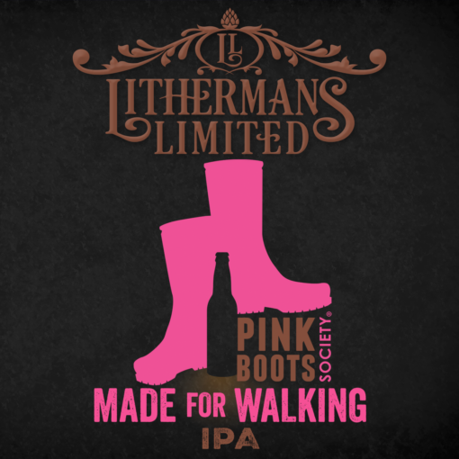 Made For Walking - Pink Boots Collaboration